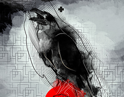 inside... crow