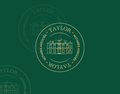 Office Notarial Taylor - Brand design