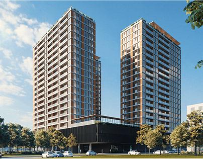 24 METROPOLIS HUB - Architectural Design