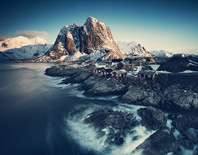 Winter at northern Norway - Lofoten