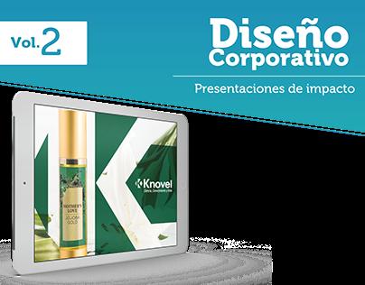 Vol. 2 Diseño Corporativo - Presentaciones de Impacto