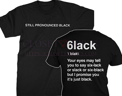 Still, pronounce 6lack sweatshirt.