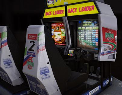 Sega Rally Arcade Twin