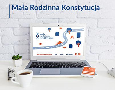 Mała Rodzinna Konstytucja - landing page