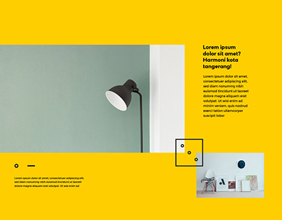 Interior design studio branding