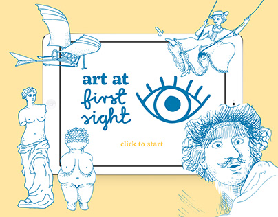 Art at first sight | app for learning art history