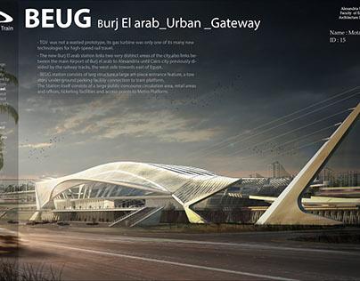 Graduation Project (TGV Railway Station)
