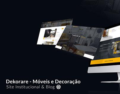 Dekorare - Site Institucional e Blog - Wordpress