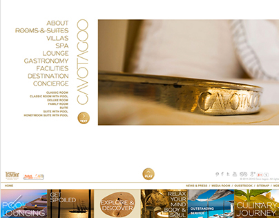 Cavo Tagoo, Website