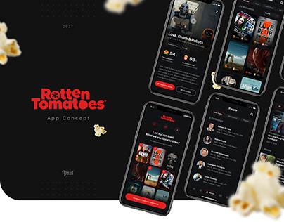 Rotten Tomatoes   App Design Concept