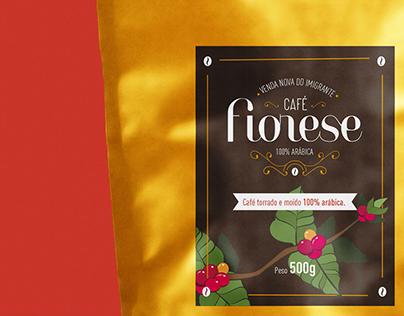 Identidade Visual   Café Fiorese