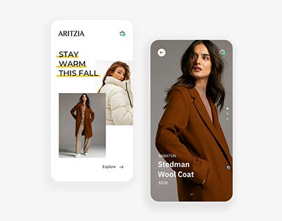 Aritzia Mobile App