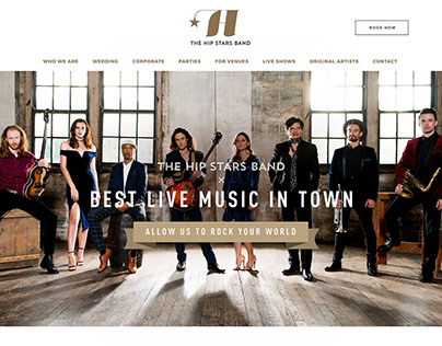 The Hip Stars Band Website