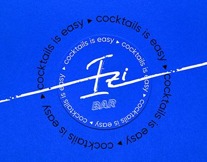 "Catering cocktails bar ""Izi"" | branding | выездной бар"