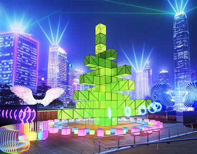 Hong Kong light festival 2019