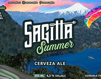 ETIQUETA Sagitta Summer Ale