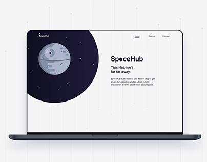 SpaceHub web ui