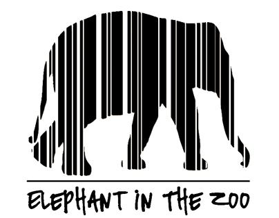 Elephant In The Zoo - band logo&merchandise design