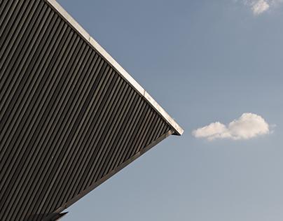 metal, sky, glass