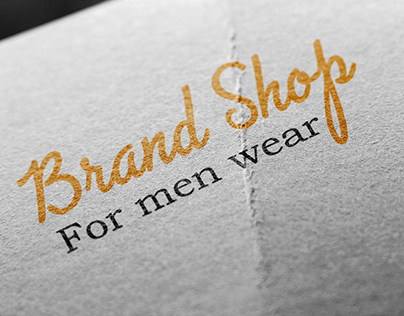 brand shop logo