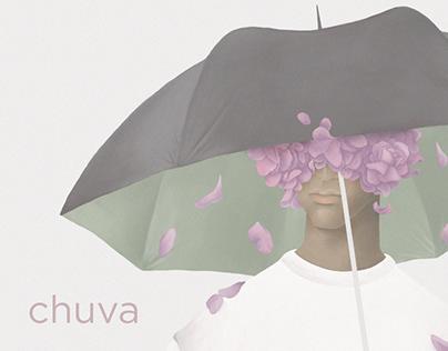 Ilustração - chuva.