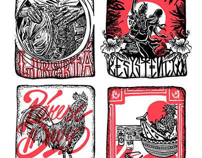 Stickers 2018