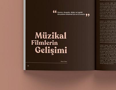 KinoMuse — Magazine Design