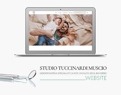 Tuccinardi Muscio dental website