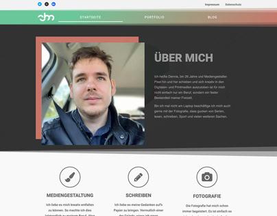 Dennis Menzel Portfolio WebDesign