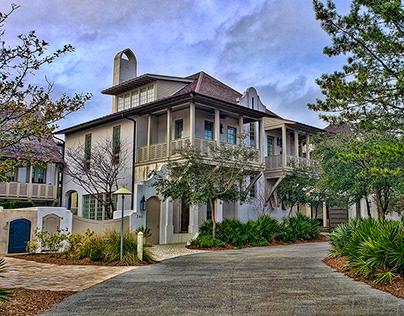 COASTAL ARCHITECTURE OF EMERALD COAST, FLORIDA