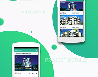 Real Estate App - Material Design UI