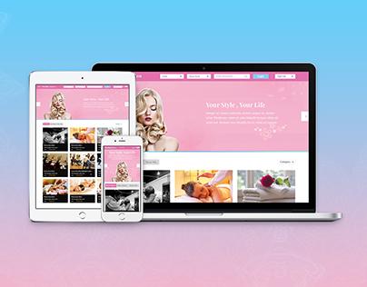 Gotomysalon web design project