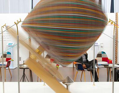 6 strand wool-ball winder