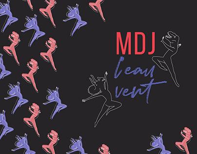 MDJ l'eau vent - Identité visuelle