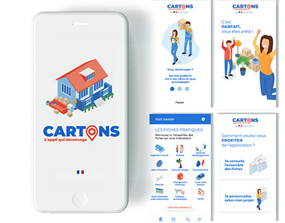 Cartons // Mobile app