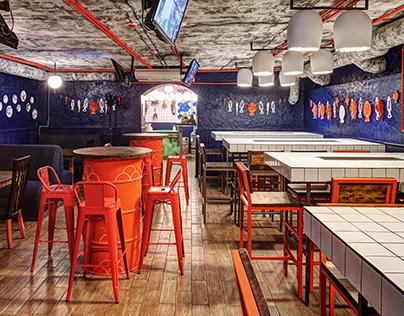 Taranka Bar - renovation project
