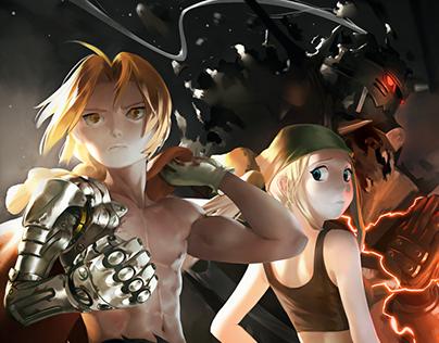 Fullmetal Alchemist Brotherhood Illustration Fanart