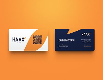 HAAX / Branding
