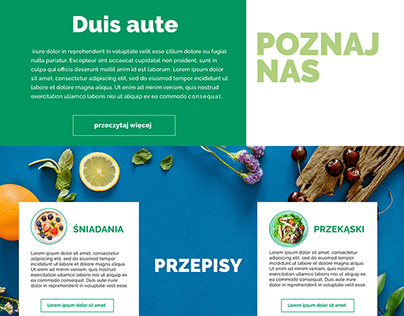 Project website: VEGEmania - diet catering