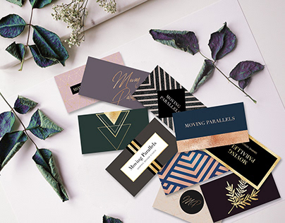 Elegant Gold Business Card Templates