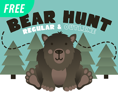 Bear Hunt [Free Font]