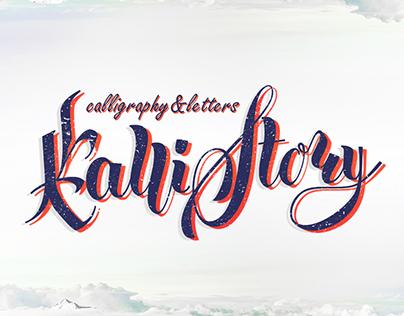 Callistory- calligraphy