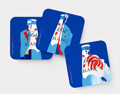 1664 Blanc KLFW.19 Limited Edition Coasters