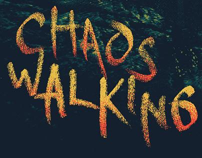 Chaos Walking - Poster Design