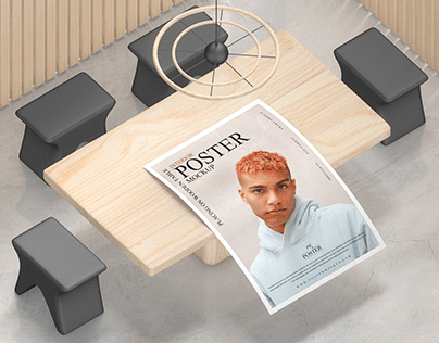 Interior Poster Mockup Free
