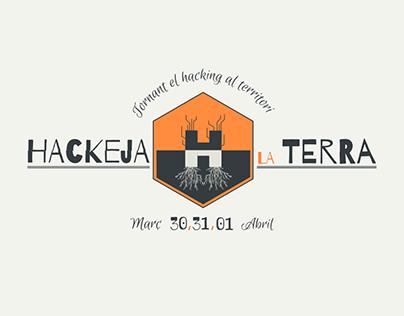 Hackeja la Terra 2018 graphic art