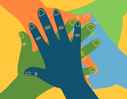 Project Exchange Illustrations, 2020
