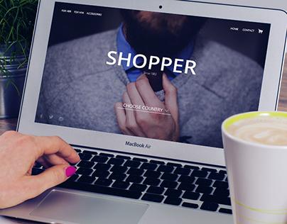 Clothing website SHOPPER
