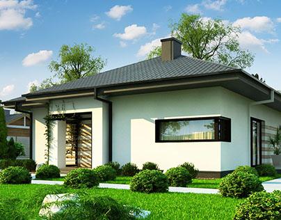 Z383 - gotowy projekt domu