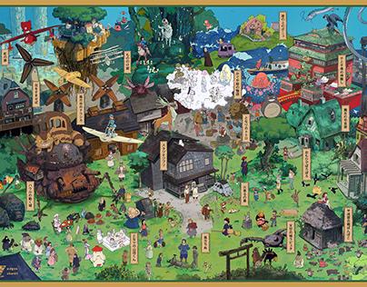 Ghibli Worldmap